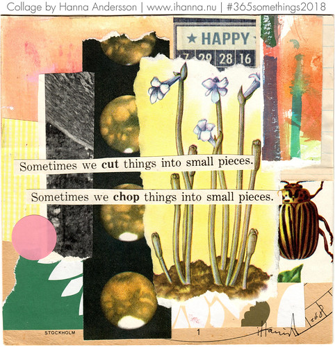 The Collage Bug - Collage no 362 by iHanna | by iHanna