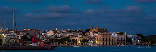 Portocolom Skyline at night | by __db_