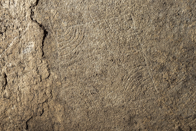 Box shaped glyphs, Unnamed Cave 7, 2