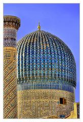 Samarqand UZ -  Gur-e-Amir Mausoleum 19