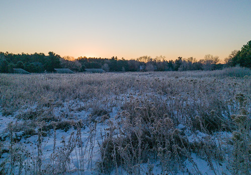 marineonsaintcroix marineonstcroix minnesota williamobrienstatepark cold frost morning snow solarpanels statepark sunrise winter unitedstates us