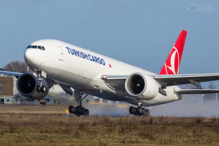 TC-LJL Turkish Airlines Boeing 777F, Maastricht Aachen Airport - EHBK/MST | by neplev1