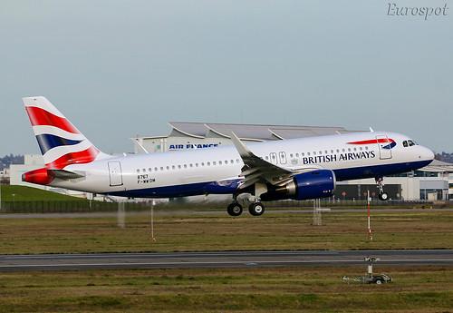 F-WWDM Airbus A320 Neo British Airways | by @Eurospot