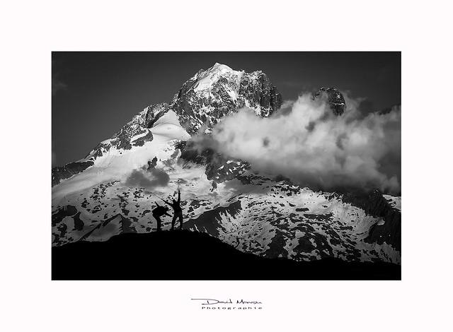 L'aiguille verte, Massif du Mont-blanc - France