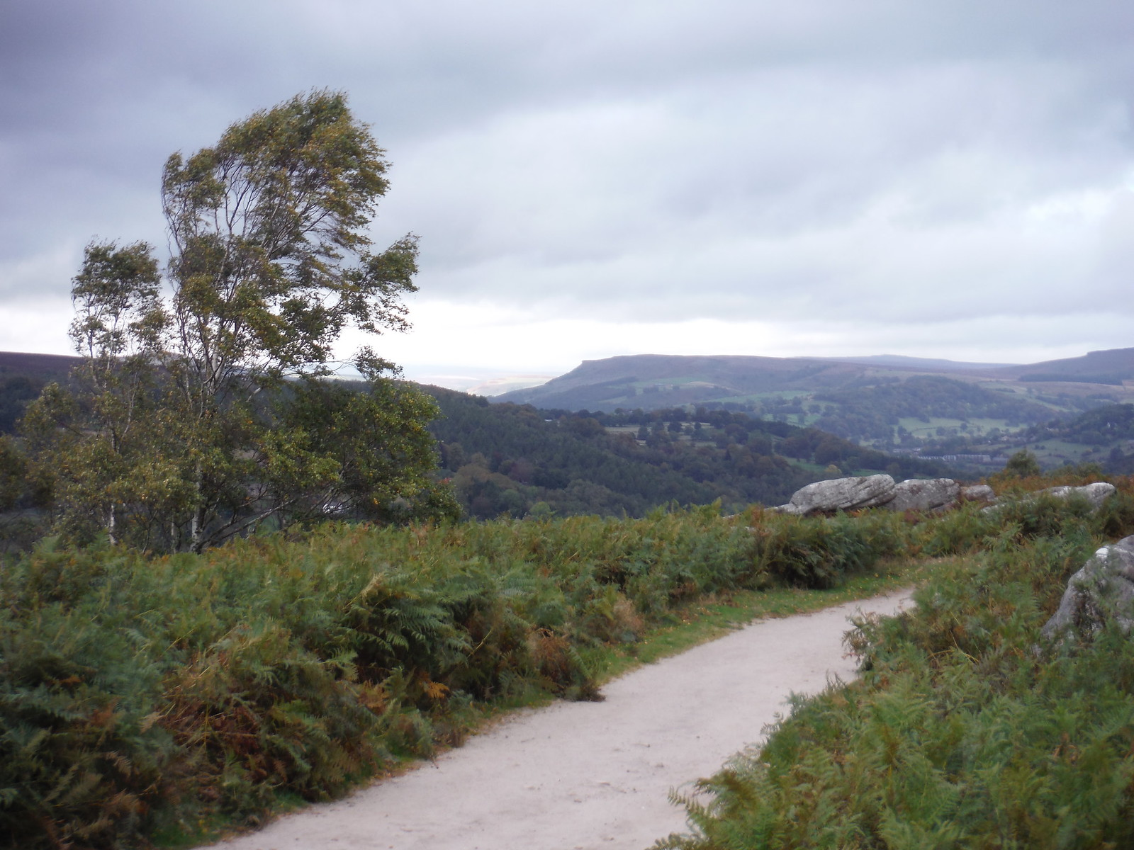 Distant Edges SWC Walk 322 - Grindleford Circular (via Chatsworth House)