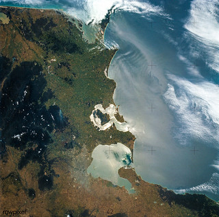 View of Melbourne, Australia as seen from the Skylab space station. Original from NASA. Digitally enhanced by rawpixel.