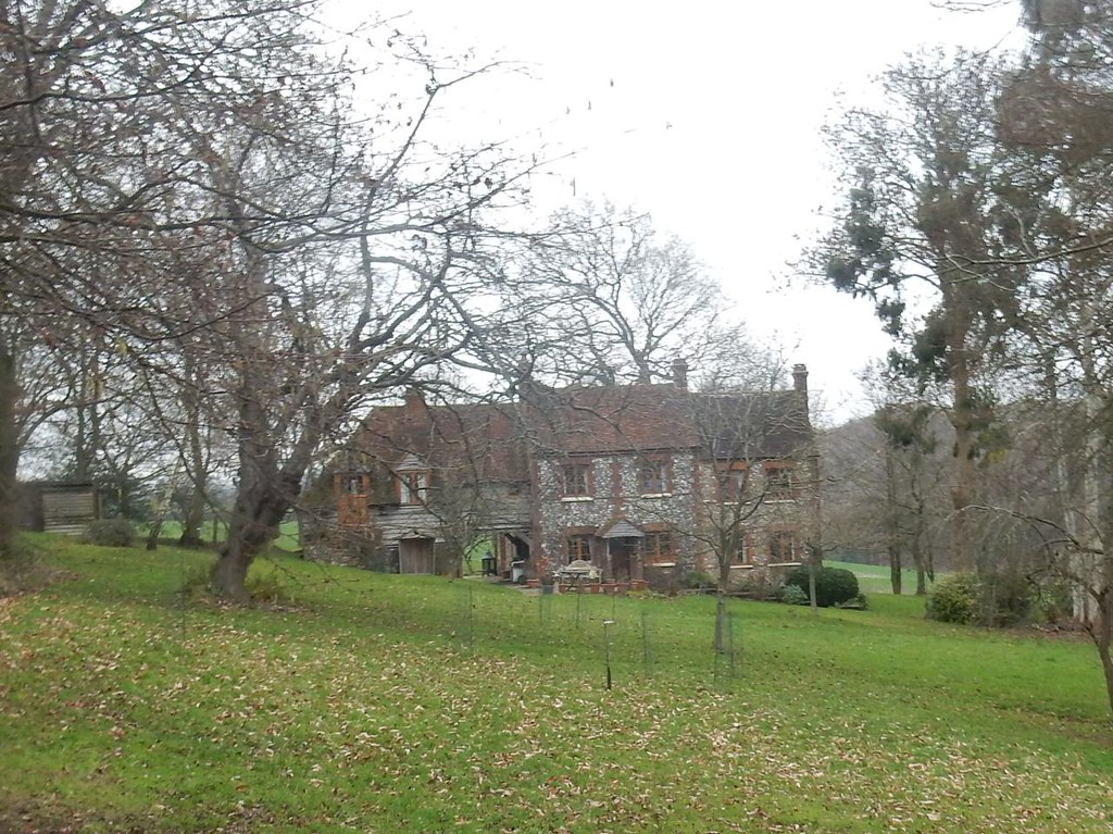 Old house Little Kimble to Saunderton