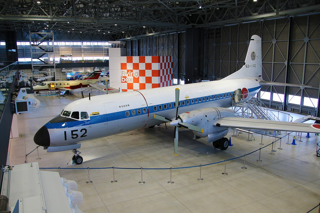 52-1152 NAMC YS-11 Japan Air Self Defence Force (JASDF) at the Aichi Air Museum Nagoya Komaki Airport Japan