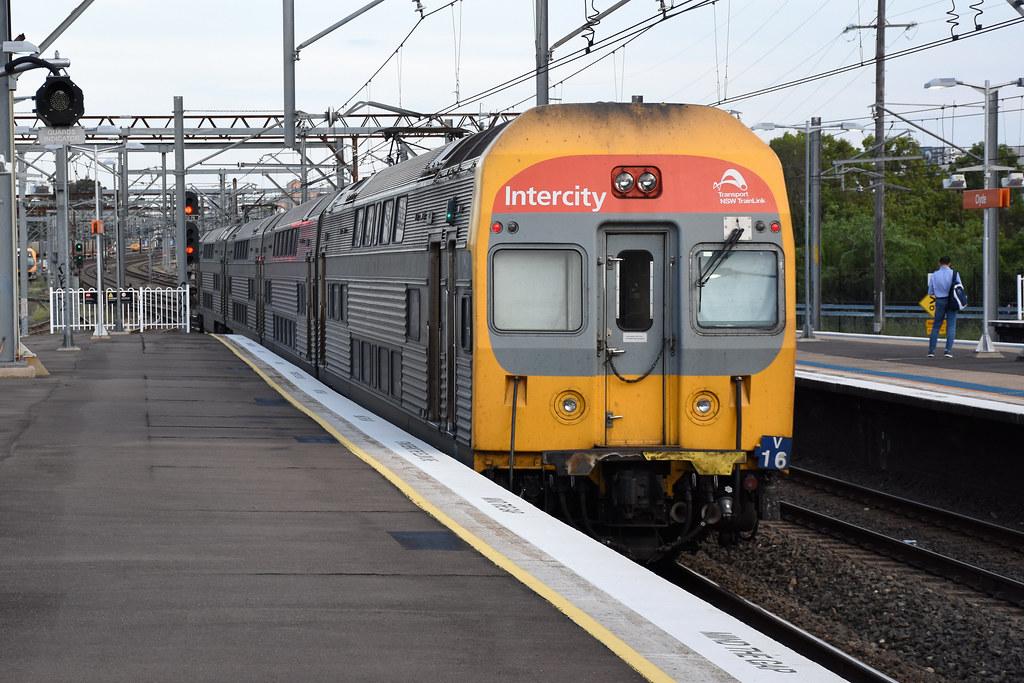 NSW TrainLink V16, Clyde