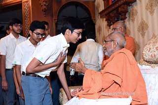 Std-10-11-12-visit-to-Haridham-for-Swamishree's-Blessings-(57) | by Atmiya Vidya Mandir