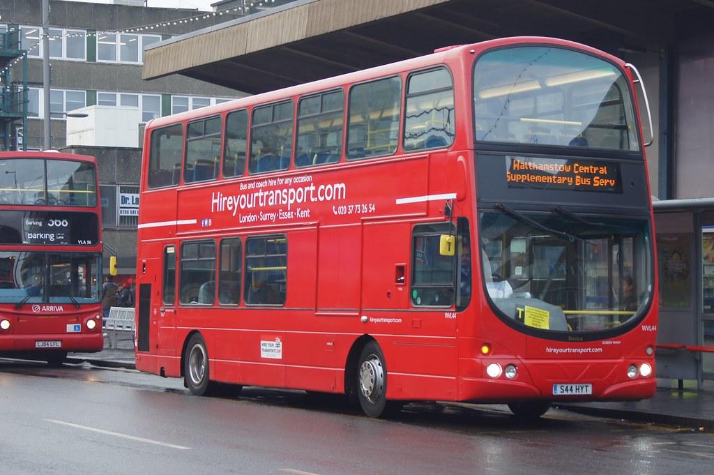 S44 Bus Time >> Rail Supplement Hireyourtransport Ex Go Ahead London Wvl Flickr