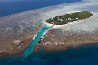 Heron Island, a coral cay in the southern Great Barrier Reef.