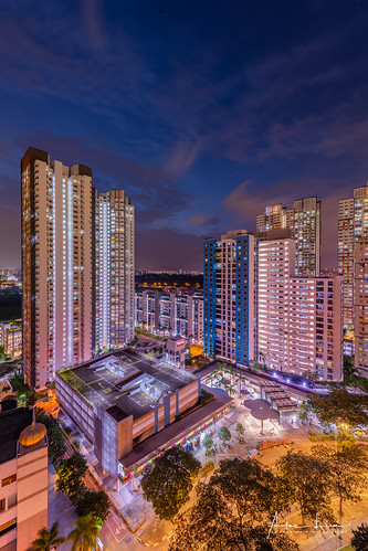 blending hdb hdr singapore architecture asia blue bluehour building buildings city cityscape clouds colorful colors exterior facade lights lines longexposure night nightscape orient oriental outdoor outside park parking sky skyscraper structure trails urban water