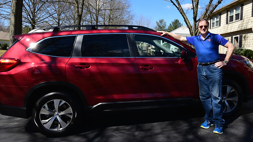 With 2019 Subaru Ascent Photo