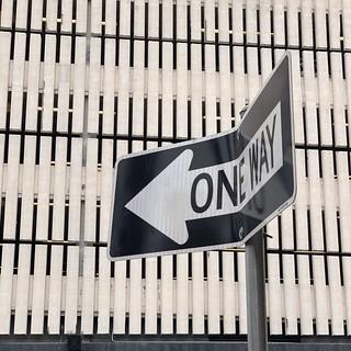 One Way (sort of)