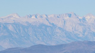 0826 Zoomed-in view of Mount Langley (far left) and Mount Whitney (right of center) from the Telescope Peak Trail | by _JFR_