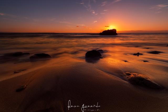 Qué tendrá el mar ... y su luz ...