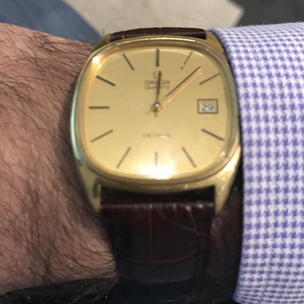 Vintage Omega De Ville 1335 cal Megaquartz Watch