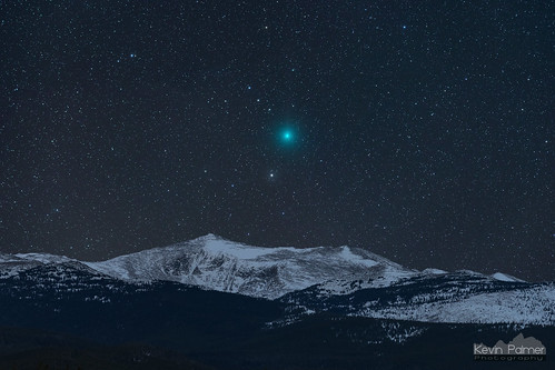 Comet and Mountain | by kevin-palmer