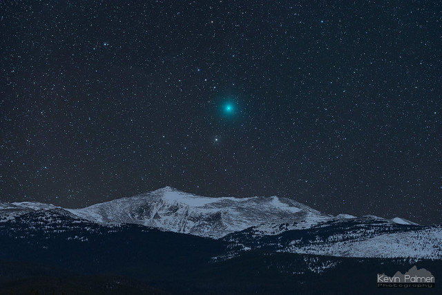 Comet and Mountain