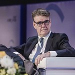 Joachim Drees during the plenary session 1 at IRU World Congress