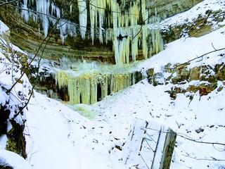 Valaste juga / Valaste waterfall, Estonia