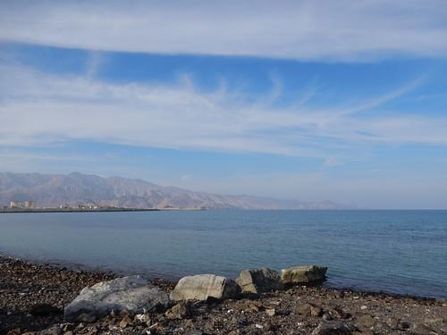 Dibba - zicht op landtong Oman