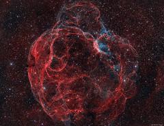 Simeis 147 Supernova Remnant