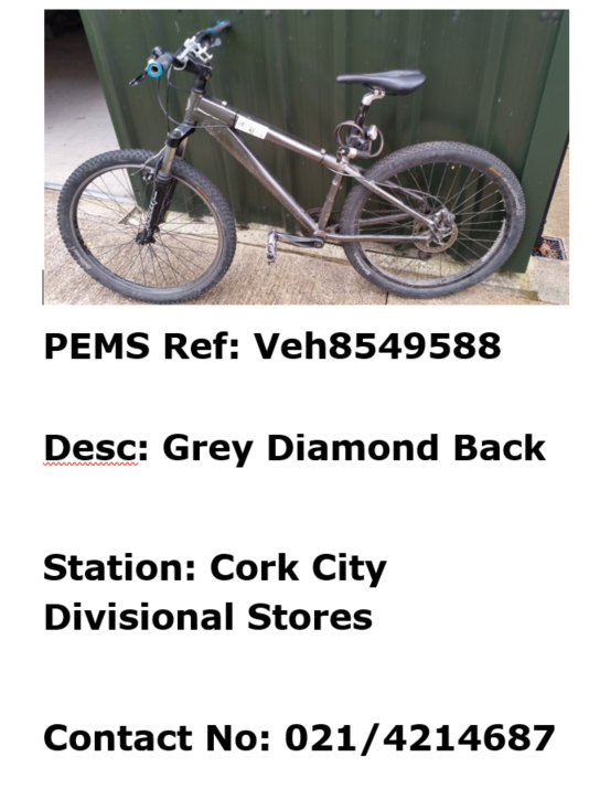 Cork City - grey Diamond Back - Veh8549588