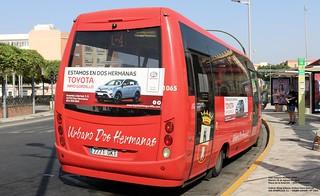 1065_IndcarWingUrbana_IrisbusIvecoA65C18_PlazadelaEstaciónDOSHERMANAS_28082018_Kino3 | by kinobus