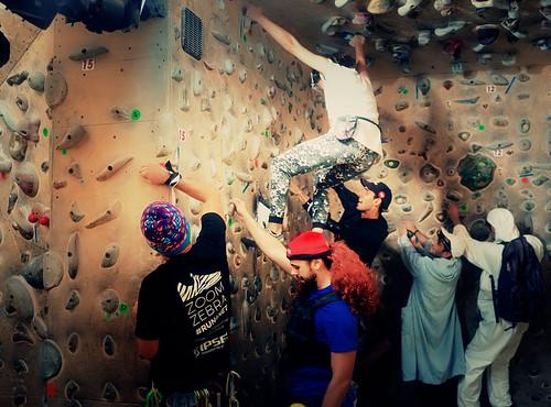 Fantasyclimbing corso di arrampicata il deposito di zio Paperone 6
