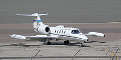 United States Air Force Europe Gates Learjet 40083 at RAF Gibraltar/LXGB