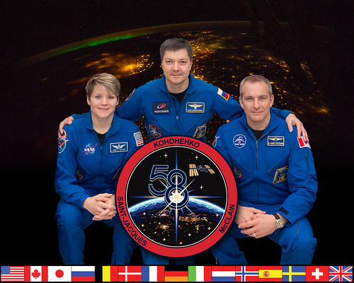 Expedition 58 Crew Portrait   by NASA Johnson