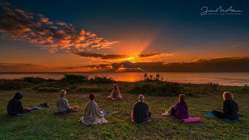 bellarinepeninsula stleonards beach yoga sunrise peace geelong victoria bellarine capturingthecoast