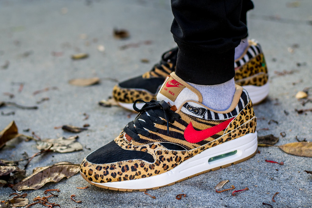 """What did you wear today? : atmos x Nike Air Max 1 """"Animal"""