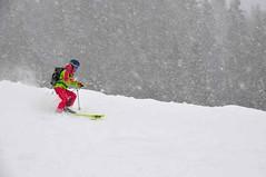 I Kačka M. na snímku je tradiční účastnící SNOWfestu, a je to vidět i na jejím vytříbeném stylu.