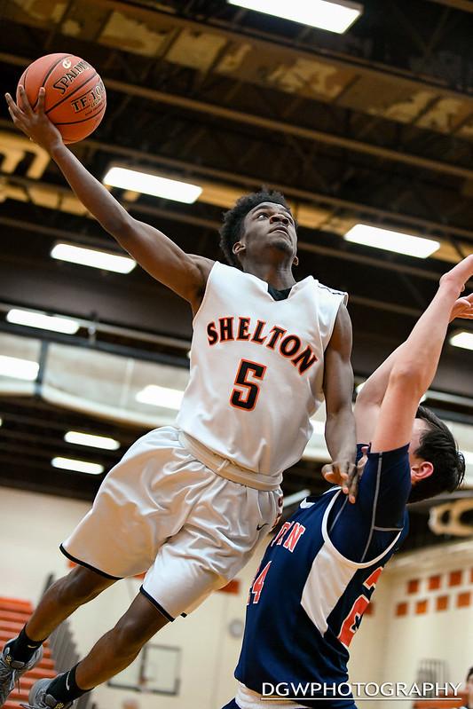 Shelton vs. Foran - High School Basketball