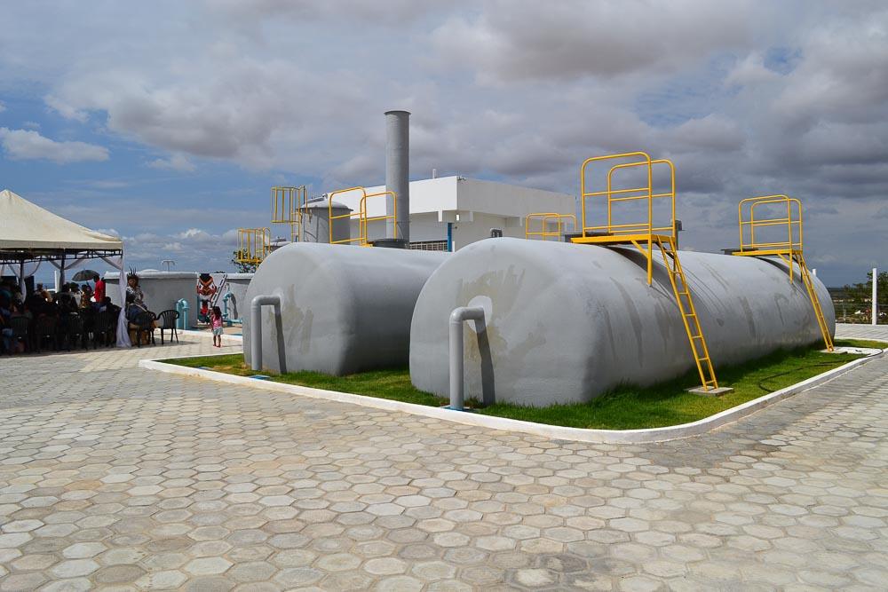 Sistema de abastecimento aldeia Pankará - 02 de junho 2020