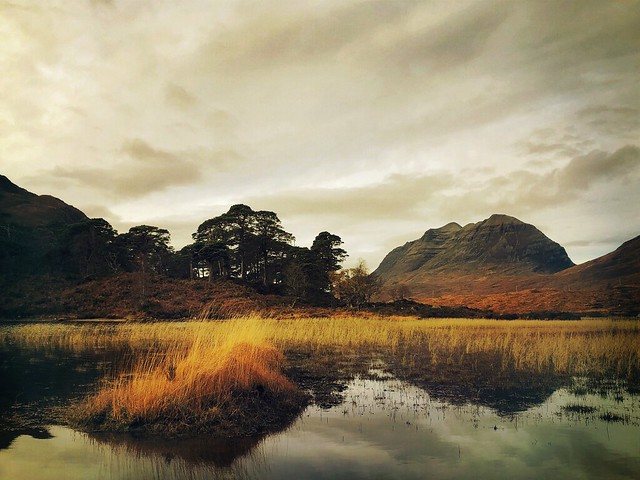 Liathach, from Loch Clair, Wester Ross