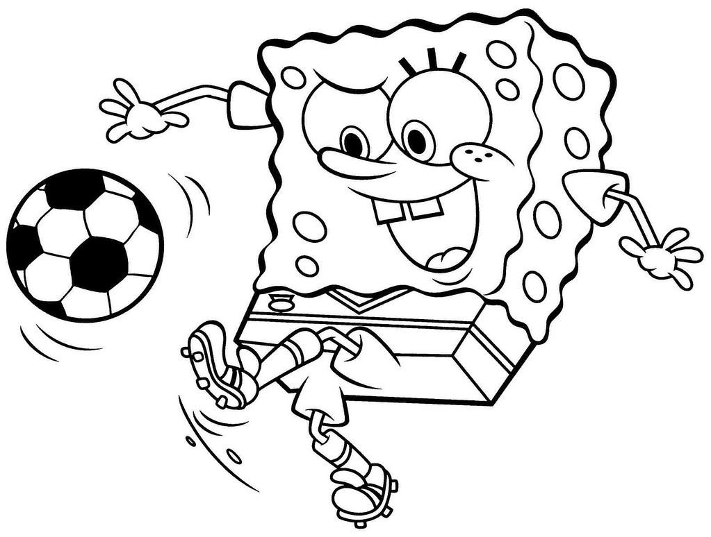 Gambar Spongebob Mewarnai A Photo On Flickriver