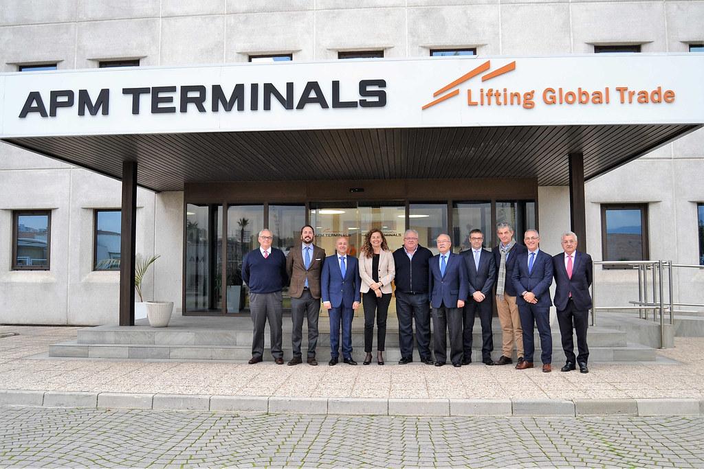 Visita presidenta Puertos APM Terminals Algeciras (1)