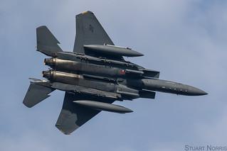 F-15E Strike Eagle 96-0205 - 492nd Fighter Squadron RAF Lakenheath | by stu norris
