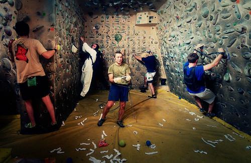 Fantasyclimbing corso di arrampicata il deposito di zio Paperone 37