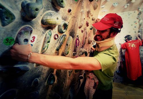 Fantasyclimbing corso di arrampicata il deposito di zio Paperone 36