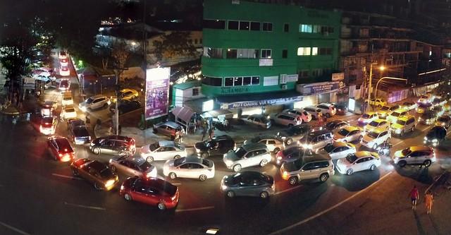 Some traffic