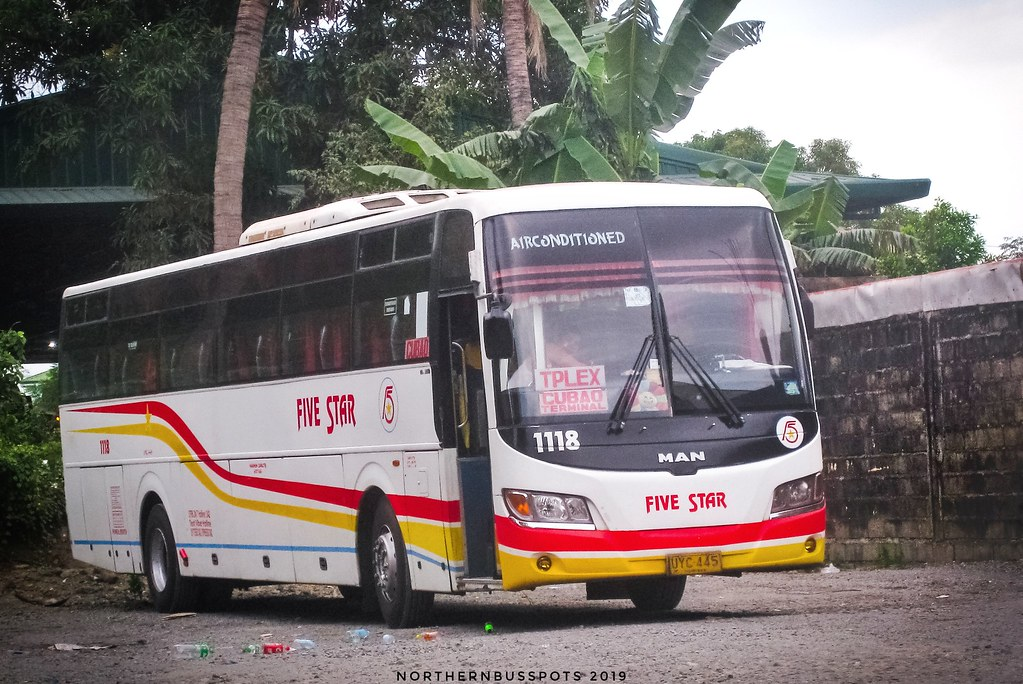 Five Star Bus 1118 Solo Company Pangasinan Five Flickr