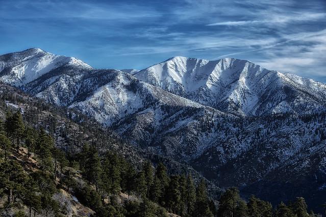 Snowy Southern California