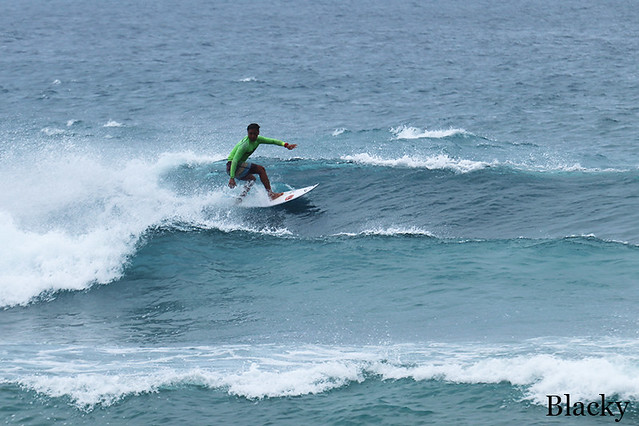 Surf lessons, Bali, Green Bowl, Surf report (February 1