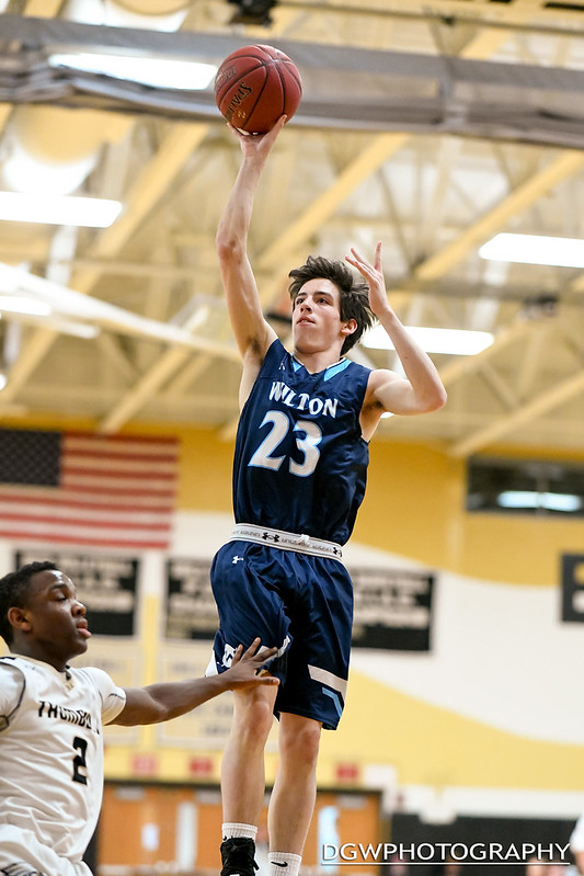 Trumbull vs. Wilton High - High School Basketball