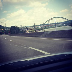 Bye Pittsburgh.. I'm going home. #roadtriphome #eh